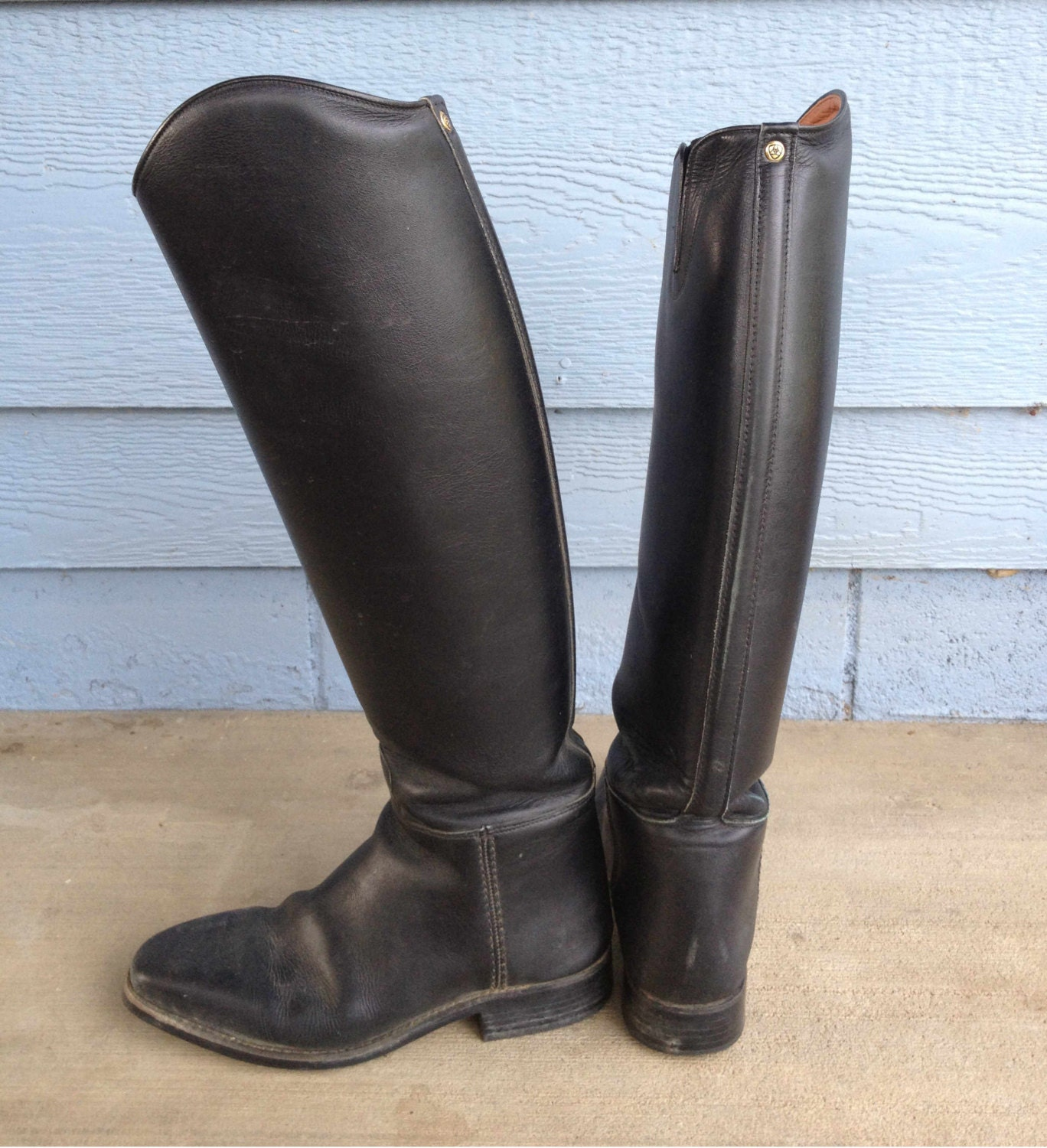 ariat italian leather boots black by