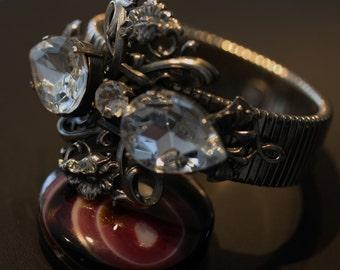 Vintage Bulatti Poppy Bracelet