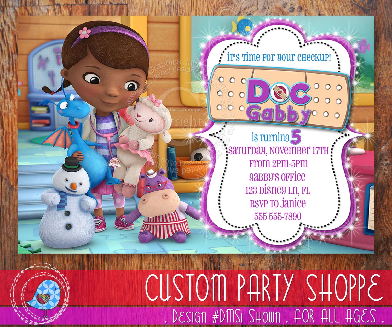 Displaying 20> Images For - Doc Mcstuffins Bandaid Clipart...