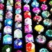 Seconds B-Grade Mystery Bargain Grab Bag Party Favor Jewelry Glitter Resin Mix Ring Hair Clip Brooch Necklace Pendant Stocking Stuffers