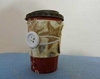 Sea Shell cup cozy