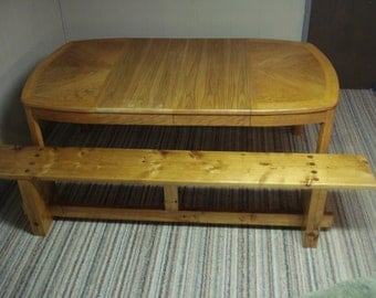 Wooden Dining Table Bench