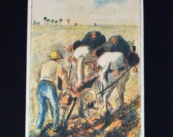 "Camille Pissarro Vintage ""Reproduction Print"