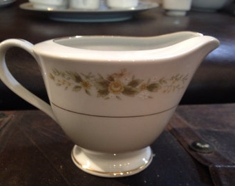 Vintage NATALIE Fine China Japan 3904 Creamer