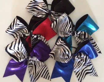 Zebra Tik Tok bow