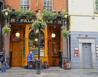 Ireland Photography, Irish Art Print, Irish Pub Art, Irish Pub Decor, Bar Art, Dublin Pub, Irish Bar Print, Castle Pub, - Palace Bar