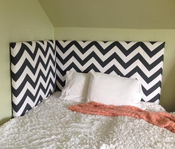 Corner Headboard Upholstered By Bedheaddesigns On Etsy