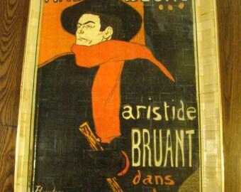 Ambassadeurs Aristide Bruant dans Soncabaret TRAY