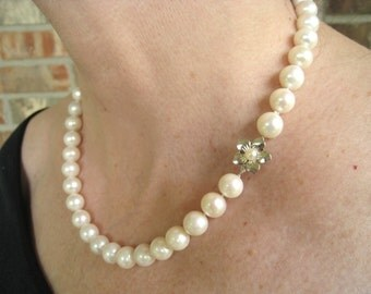 14KWG 9.5 mm - 10.5 mm South Seas Pearl Necklace