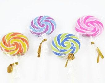 LOLLY POP ERASER  - Lolly Pop Erasers (11cm x 4.5cm)