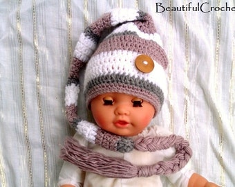 Hello everybody this beautiful elf hat is new. you can order it in all sizes and in your favourite colour.