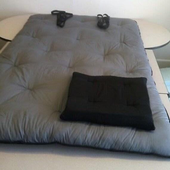 New xl 50x82x3 thai shiatsu massage yoga organic cotton mat a for Full body shiatsu massage mat