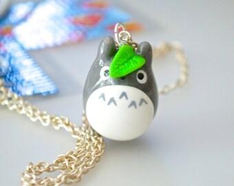Kawaii Cute Totoro Polymer Clay Charm