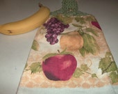 Towel Topper of Fruit Sooo Healthy