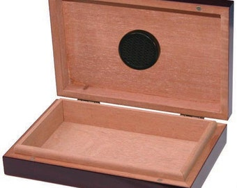 Personalized Humidor, The Traveler 5 Cigar Humidor, Groomsman Gift