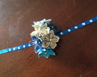 Paper Flower Wedding Corsage