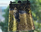 FineArt Collection Van Gogh oil painting skirt