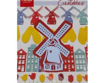 Marianne Designs Creatables Die ~ Windmill ~ LR0208