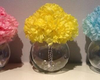 Baby Shower Centerpiece - Baby Shower Floral Arrangements - Newborn Flowers - Baby Shower Decoration