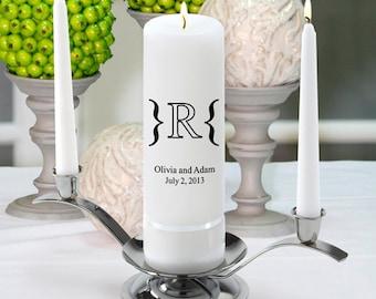 Monogram Wedding Candle - Luxe - GC330 MG7