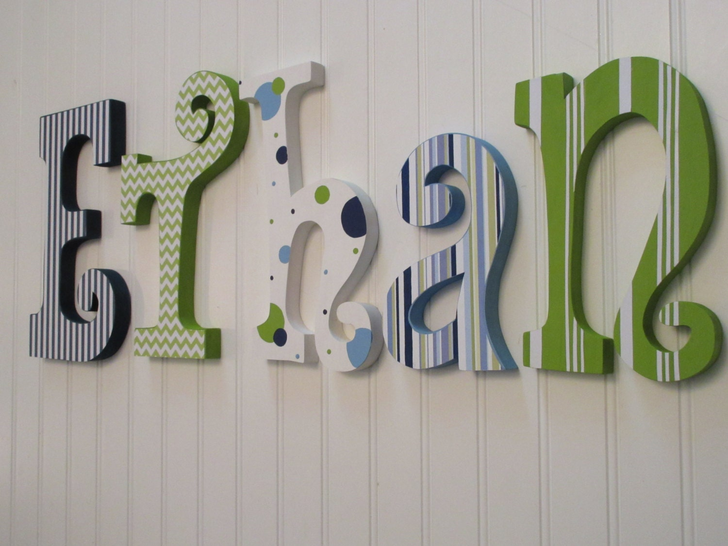 hanging nursery letters nursery decor nursery wall decor With hanging letters in nursery