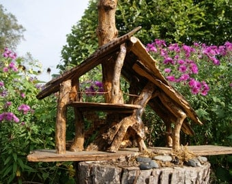 "Unique garden home or fairy house titled ""The Gathering House"""