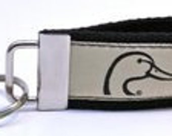 Ducks Unlimited Khaki key chain