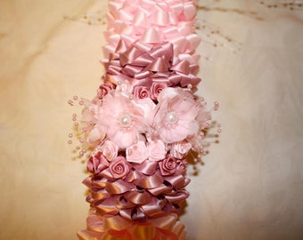36 inches handmade ribbon garlands for graduations, birthdays, weddings, or any special event.