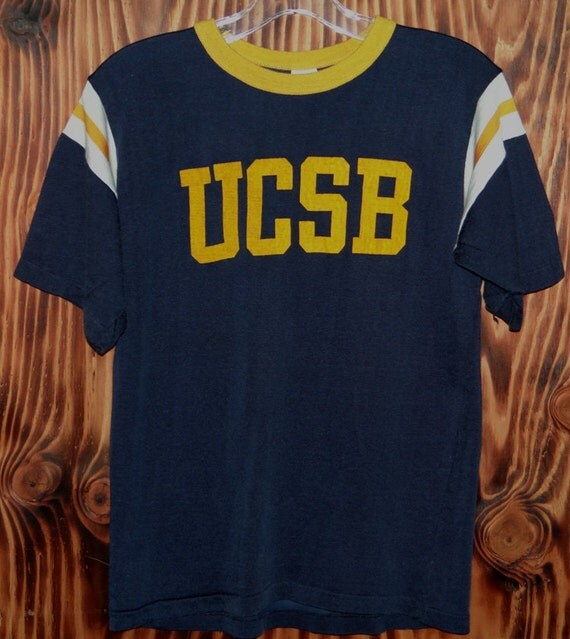 vintage 60s t shirt california santa barbara