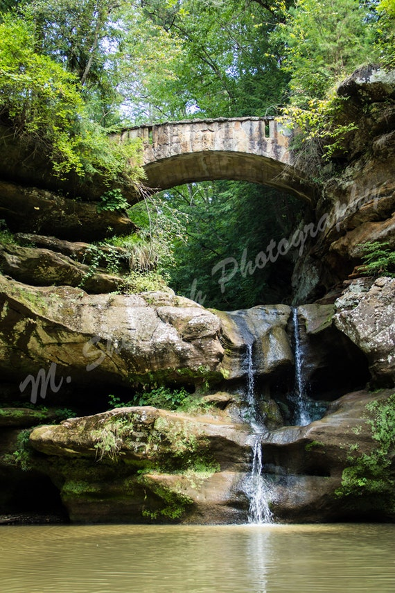 Old Man S Cave Craft Show : Upper falls at old man s cave hocking hills fine art