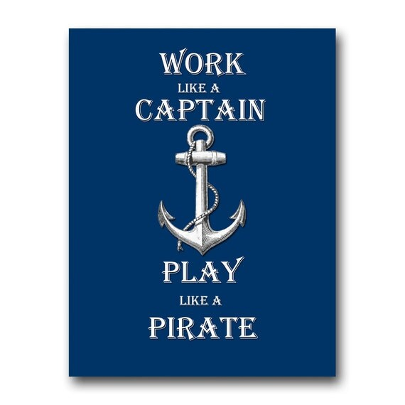 work like a captain play like a pirate instant