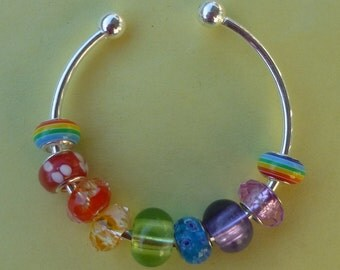 Bright and Cheery Rainbow Bracelet