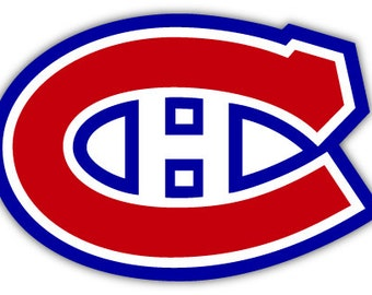 "Montreal Canadiens NHL Hockey sticker decal 5"" x 3"""