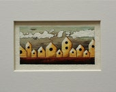 """Tiny #7 : Original Acrylic Painting - From the Series """"The Tiny Paintings"""""""