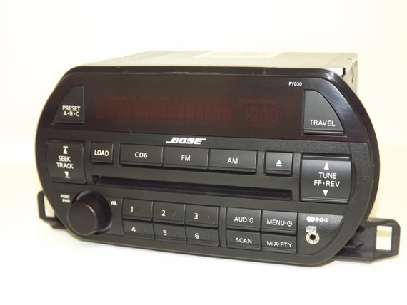 Nissan Altima 2002 2003 Am Fm 6 Disc Cd Player Bose Radio