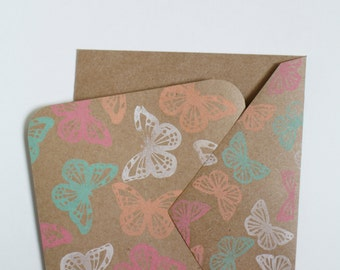 "Kitsch Collection : All Occasion Card "" Incredible Butterflies"""