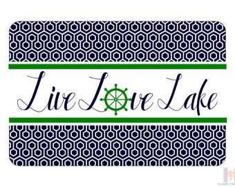 Live Love Lake tray.  Be the perfect hostess and entertain with style! Great for Summer BBQ's!  A unique wedding, birthday or hostess gift!