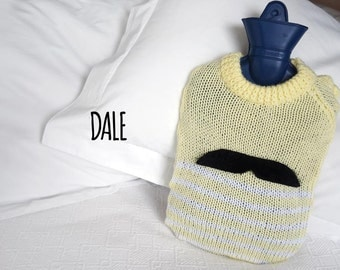 Hot Water Bottle Cover by Real Hotties - 'Dale'