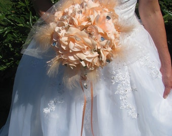 Peach Tangerine Bouquet