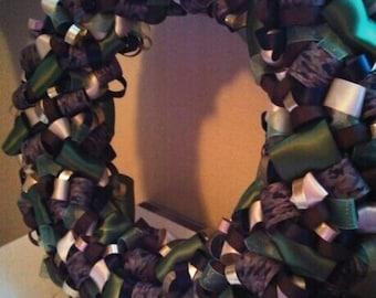 Hoorah Ribbon Wreath