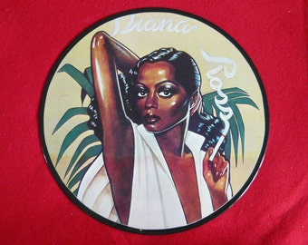 Diana Ross Vinyl Record Wall Art Hanging
