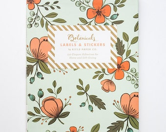 Rifle Paper Co Botanicals Stickers and Labels - Perfect for Scrapbooking, Organising, Gift Wrap