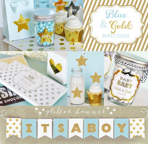 High Quality Prince Baby Shower Decorations   Little Prince Baby Shower BANNER Decor    Royal Prince Baby Shower Ideas   Boy Baby Shower Themes (EB3062)