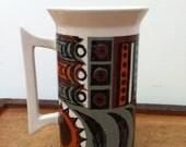 Vintage 1960s Portmeirion tall mug.