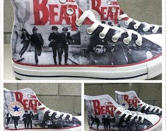 The Beatles Custom Converse All Stars