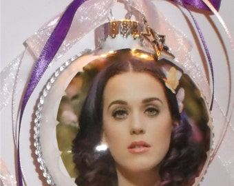 Katy Perry inspired Tribute Christmas Ornament