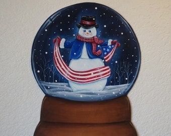 Snowman winter decoration; Snowman decoration; snowman decor; Winter holiday decoratioin; Christmas snowman decoration; Snowglobe;  decals;