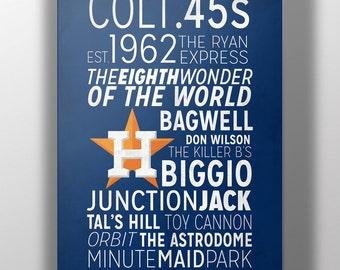 Houston Astros Print