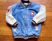 The Disney Store Vintage Children's Lined Denim Jacket
