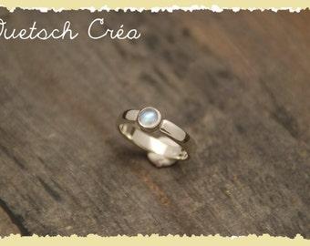 Ring Silver 925 & Moonstone
